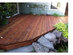 The right deck for the right cost decking comparison for Redwood vs composite decking
