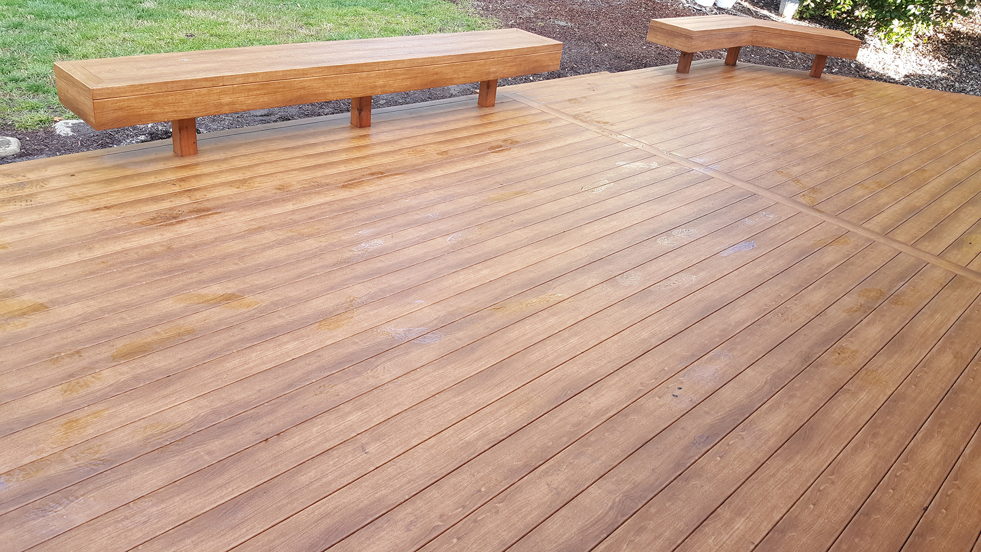 Zuri Walnut Deck In Santa Rosa Before And After Pics
