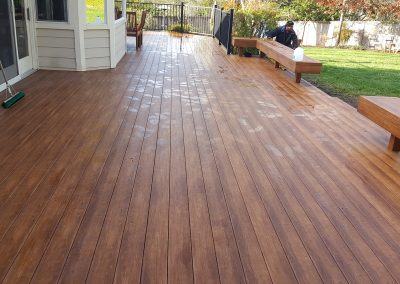 Zuri Walnut Deck in Santa Rosa - After Pics of main deck