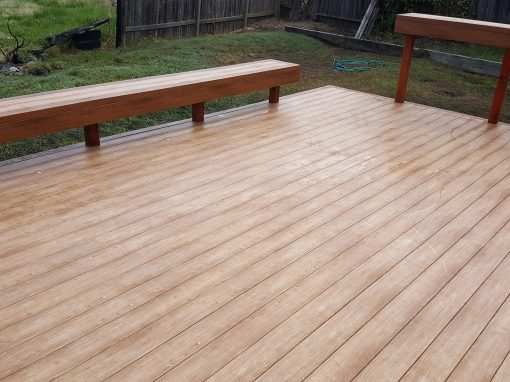 Zuri Deck in Coffey Park