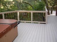 Azek Composite Deck View