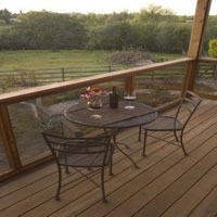 Mill Valley Deck and Railing View